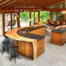 Small Picture Amazing Wood Kitchen Countertop Ideas Adding Exotic Look to Modern