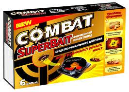 Купить <b>Ловушка</b> от <b>тараканов</b> инсектицид <b>Combat</b> Super Bait, 6 ...