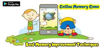 caillou memory game