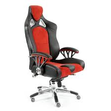 office chairs designer. ProMech Racing Speed-998 Office Chair Upholstered In Black \u0026 Crimson  Executive Office Chairs Designer