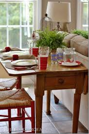 foot long dining table leaf back porch musings narrow drop leaf table for a breakfast table or hal