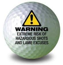 warning golf ball golf gifts fathersday bitememore gifts for