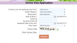 Citizenship Application Form Delectable Filling Out Your Online Indian Visa Application Form