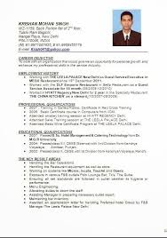 Format My Resume Stunning Image Result For Resume Format For Hotel Management Fresher 24th