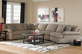 Broyhill Furniture Ethan Transitional Sectional Sofa With Left - Bobs furniture milford ct