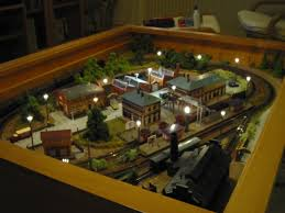 A Train in your Coffee Table!