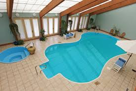 This Illinois Mansion With a Guitar-Shaped Indoor Pool Is Somehow ...