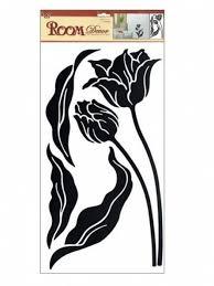 Pokojová Dekorace černý Tulipán 60 X 32 Cm 574 Vaše Online