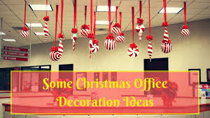 Office decoration christmas Window Some Ideas For Christmas Office Decorations Youtube Some Ideas For Christmas Office Decorations Youtube