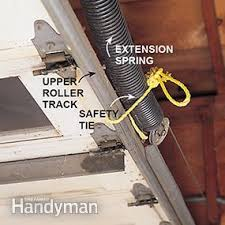 safety tie for springs