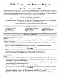Executive Resume Writing Tips Company Resume Example Free Letter Templates