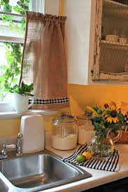 best 25 burlap kitchen curtains ideas on kitchen window curtains farmhouse kitchen curtains and kitchen sink window