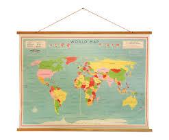 Shop Hier Trendy Wereldkaart Behang Mét Korting Westwing