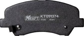 <b>Комплект передних тормозных колодок</b> Kraft, для Hyundai Solaris ...