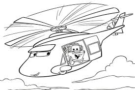 cars the movie characters coloring pages. Simple Characters Cars Helicopter Flying On The Movie Characters Coloring Pages S