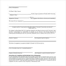 Employee Resignation Letter Classy Illness Immediate Resignation Letter Sample Download Irrevocable