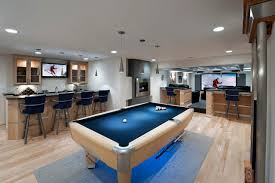 furniture for basement. ashburn contemporary basement pool area u0026 bar contemporarybasement furniture for i