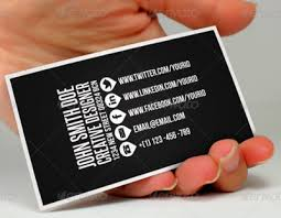 Add Your Social Media Profiles To Your Business Card
