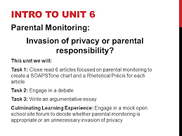 arguments in action the undercover parent ppt 3 invasion