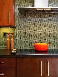 glass tile backsplash pictures design ideas for modern kitchen decor plus oak wooden cabinet ideas