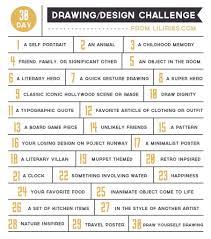 Design Challenge Ideas 30 Day Drawing Design Challenge Abbi Oakley Oakley Oakley