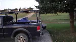 Universal Truck Ladder Rack - YouTube