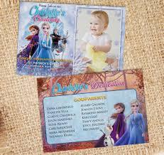 How to edit photoshop template. Frozen Ii Birthday Christening Invitation Dioskouri Designs