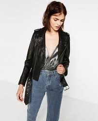 zara moto 1 steal leather jacket