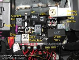 2004 volkswagen touareg fuel pump relay location vehiclepad vwvortex com 03 jetta relay diagram or under dash picture needed