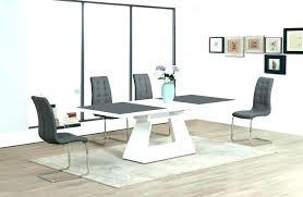 white extending dining table high gloss grey dining table extendable dining table grey white extending high