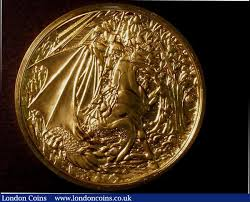 St. George and the Dragon 2010/2011 by Gordon Summers, 10oz. of .999 : A146  L1907 : Auction Prices