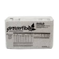 Greenfiber Low Dust Cellulose Blown In Insulation 30 Lbs 36 Bags