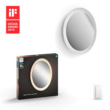 Buy The Philips Hue White Ambience Adore Bathroom Lighted Mirror 3435731p7 Adore Bathroom Lighted Mirror