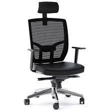 modern office chair. BDI TC-223 Black Leather Office Chair Modern