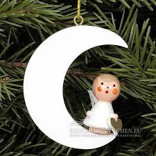 Weiss Mond Mini Engel Christbaumschmuck