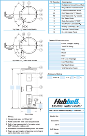 wiring schematic for electric water heater wiring commercial electric water heater model se hubbell heaters on wiring schematic for electric water heater