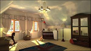 design room 3d online free with beautiful part of curtain and
