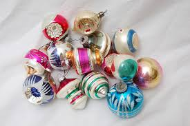 Download Pile Of Old Christmas Tree Ornaments Stock Photo - Image of  ornaments, color: