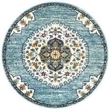 blue round area rugs blue circle rug dark blue round area rug