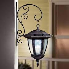 porch light lantern solar wall light
