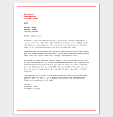 Hardship Letter For Immigration Word Doc Sample Example Format