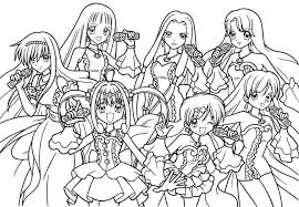 Cute Anime Coloring Pages Sailor Moon Coloring Pages Printable