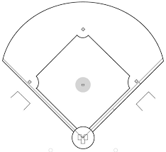 Free Black And White Baseball Diamond Download Free Clip