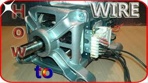 washing machine motor wiring basics 3 steps picture of washing machine motor wiring basics