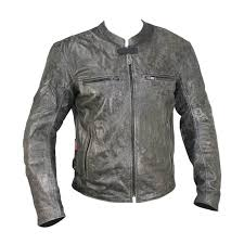 distressed leather mens motorcycle jacket