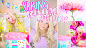 diy spring room decor tumblr inspired youtube