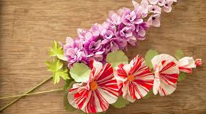 Paper Flower Base Paper Flowers Make Hollyhocks And Delphiniums By Livia Cetti Of The