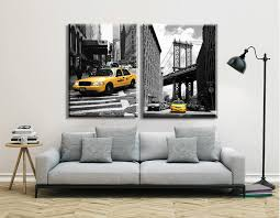aliexpress com buy home decor modern canvas painting new york