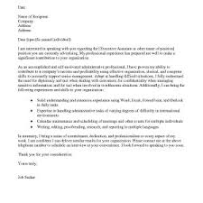 Sample Cover Letter For Administrative Assistant Archives ...