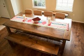 Farmhouse Dining Room Table Chairs Table Designs Make Your Own - Diy rustic dining room table